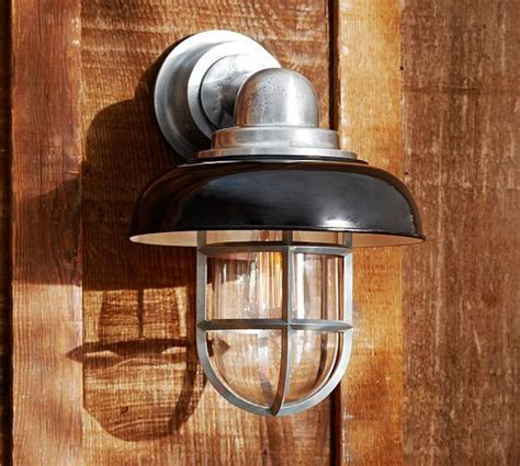 Pottery Barn Outdoor Lights 17 Best Images About Outside Lights On Pinterest Craftsman Exterior Lighting And Wall Sconces