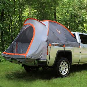 enjoy cing with truck bed tent by rightline gear