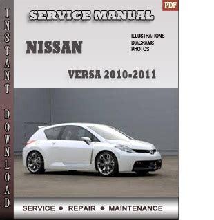 service manual service repair manual free download 2010 nissan pathfinder transmission control 2010 2011 nissan versa service repair manual