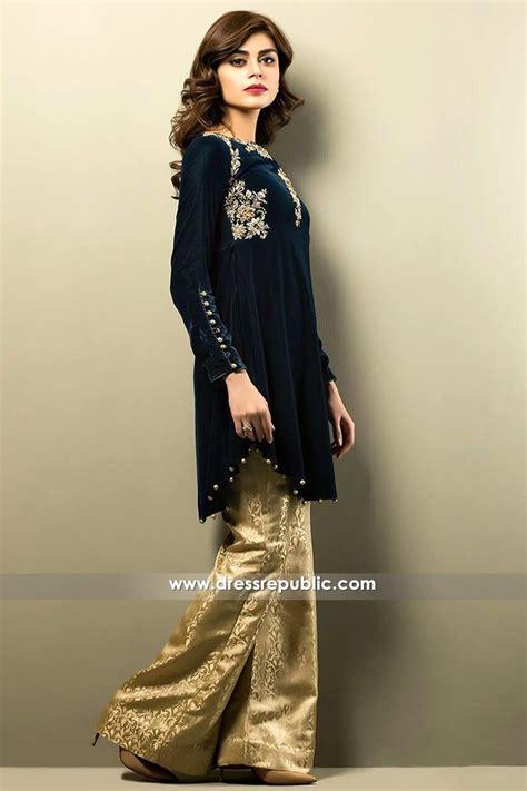 velvet design clothes zainab chottani casual pret collection 2017 zainab