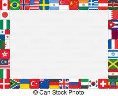flags of the world page border flag page boarder clipart clipart suggest