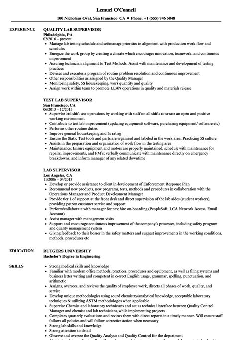 awesome laboratory manager resume objective images entry