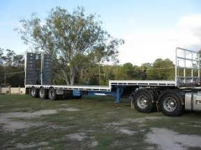 Used Car Trailers For Sale Brisbane Barker 45ft Triaxle Dropdeck Semi Trailer For Sale Qld