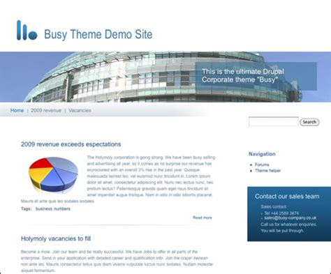 themes drupal 7 free drupal 7 themes best collection of top themes for drupal