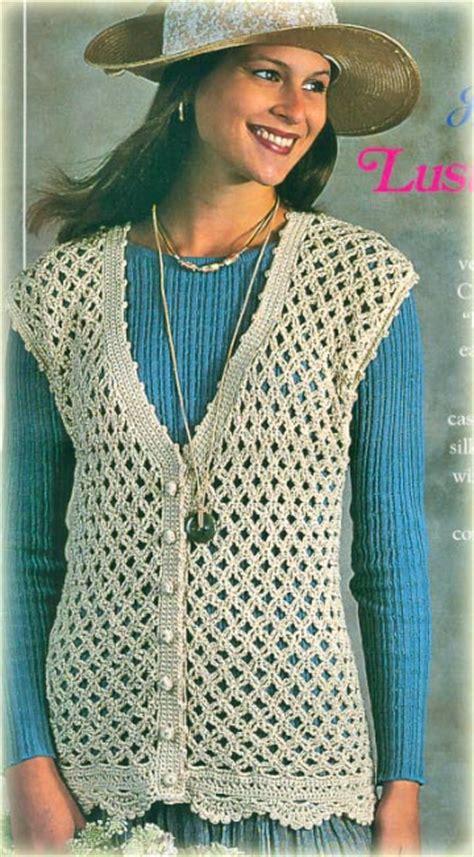 free printable crochet vest patterns free printable women s vest crochet patterns dancox for