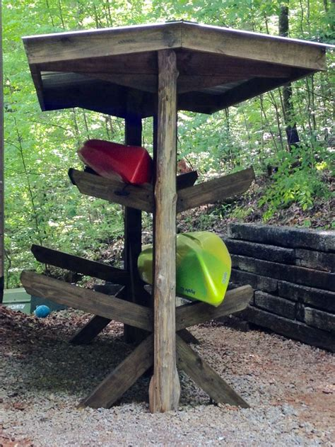 Outdoor Kayak Rack by 25 Best Ideas About Kayak Storage On Kayak
