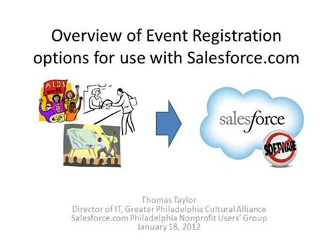 Event Registration Options That Work With Salesforce Com Authorstream Salesforce Powerpoint Template