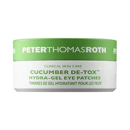 Cucumber Hydra Gel Eye Patches cucumber de tox hydra gel eye patches roth