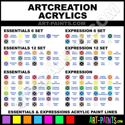 artcreation expression acrylic paint colors artcreation expression paint colors expression