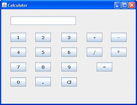 calculator java subtract divide and multiply buttons for java calcualtor