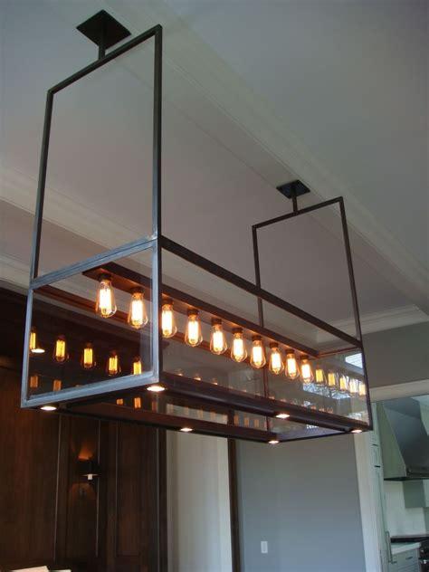 hand  lighting modern custom steel glass