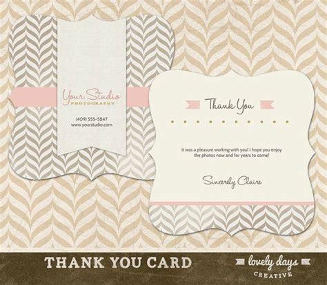 wedding thank you card templates for photographers best 25 thank you card template ideas on
