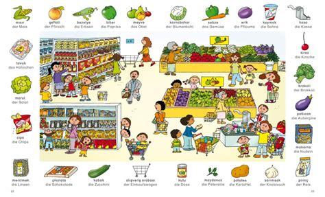 libro im supermarkt kinderbuch deutsch englisch bildw 246 rterbuch englisch franz 246 sisch t 252 rkisch langenscheidt verlag hallo kinder wir