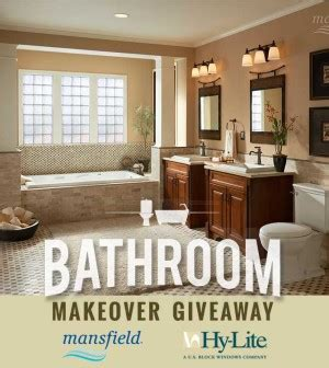 Home Makeover Giveaways 2015 - the 2015 bathroom makeover giveaway on the house