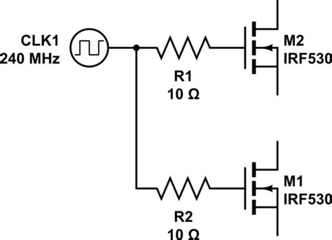 series termination resistor series termination resistors a common point electronicsxchanger queryxchanger