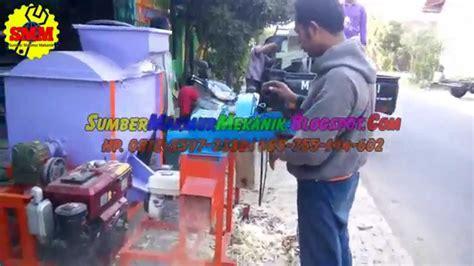 Mesin Perajang Batang Pisang mesin perajang gedebog batang pohon pisang kombinasi