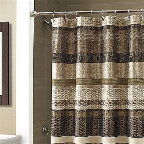 84 In Shower Curtain by Croscill 174 Portland 70 Inch X 84 Inch Shower Curtain In Black