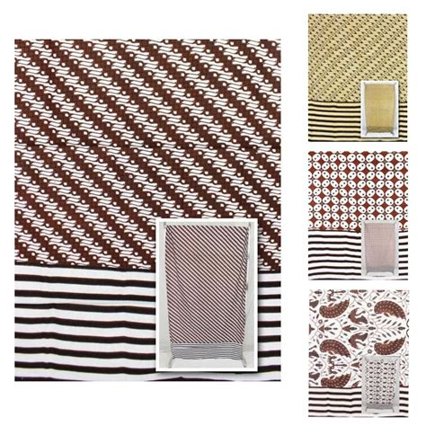 Gendongan Kain Bayi kain gendongan bayi batik motif tumpal salur kain batik printing murah batikunik