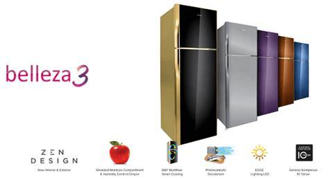 Kulkas Polytron Pr21 Belezza 3 teknologi pangan yang siap membuat hidup mudah dan sehat