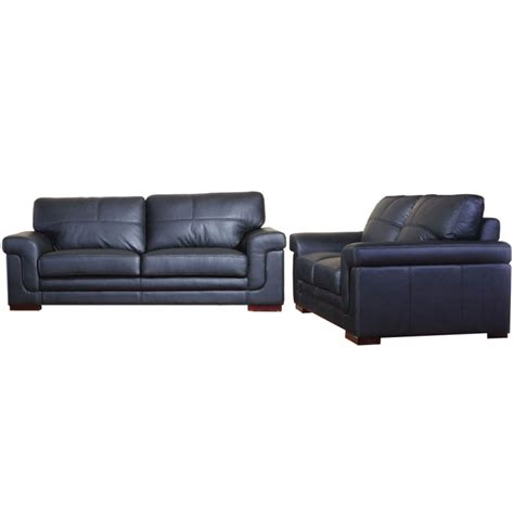 3 And 2 Seater Leather Sofas by Enna Leather 3 2 Seater Sofa Set Various Colours