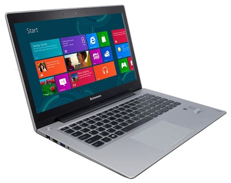 Laptop Lenovo Ideapad U430 Touch Lenovo Ideapad U430 Touch Review Rating Pcmag