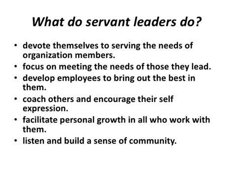 the learning of a journey toward servant leadership books servant leadership