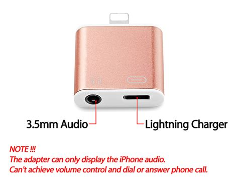 Iphone 7 7 Plus Lightning To 35mm Converter Gadgetgum lightning to 3 5mm audio charger adapter for iphone 7 7 plus