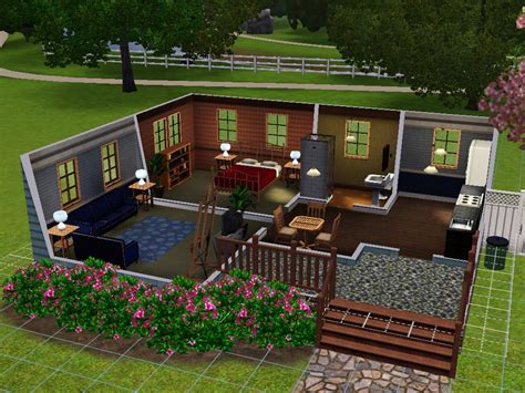 mod the sims affordable 2 bedroom mobile home for sale starter homes for sims 3 at my sim realty