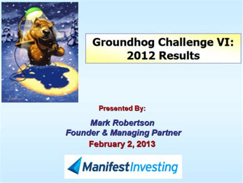 groundhog day yearly results february 3 2013