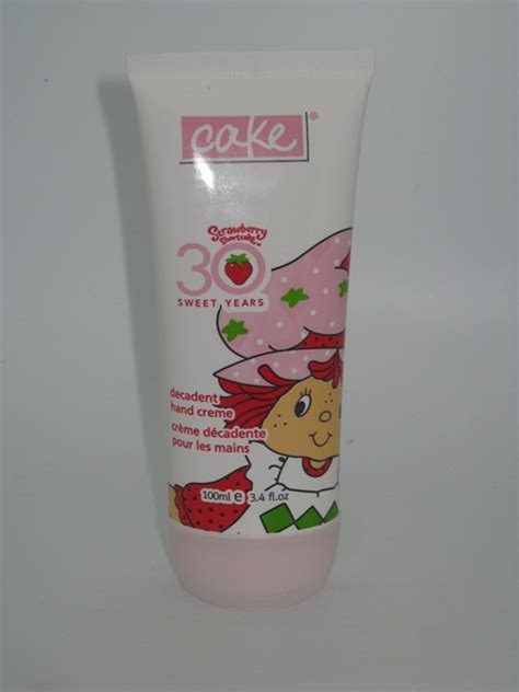 Bath And Shower Gel cake beauty strawberry shortcake decadent hand creme