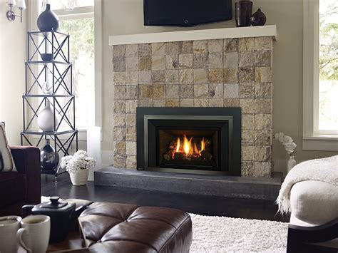 High Efficiency Gas Fireplace Insert by Liberty Lri4e High Efficient Gas Insert Fireplace