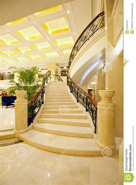 beautiful marble stairs stock image image  classy