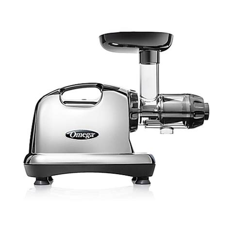 juicers at bed bath and beyond omega 174 model j8006 nutrition center hd juicer in chrome
