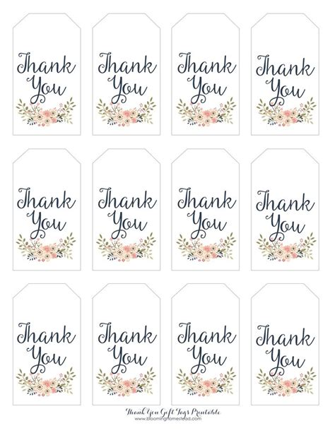 free printable thank you tags template thank you for coming tags printable printable 360 degree