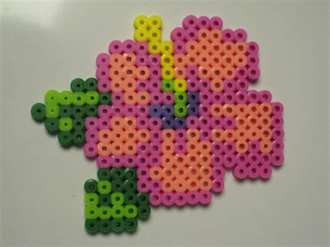 perler bead flower perler bead flower pattern car interior design