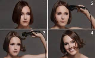 using curling iron on short hair pt 2 short hairstyles 14 hair styling tips you will love part 1
