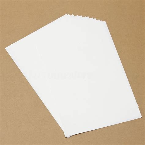 iron on printing paper for t shirts 10pcs t shirt a4 transfer paper iron on heat press light