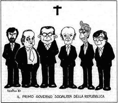 composizione consiglio dei ministri i governo craxi 1 agosto 1983 1 agosto 1986