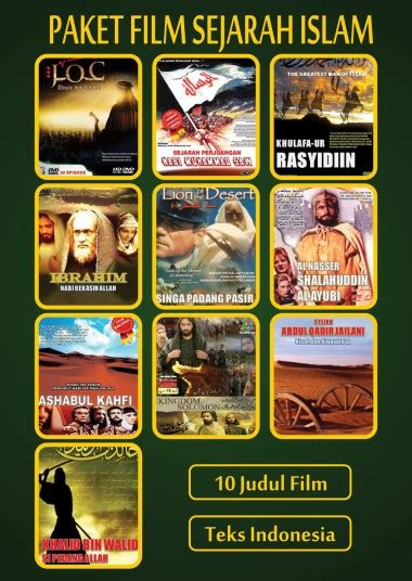 film sejarah perjuangan islam 10 film perjuangan islam tontonan sebagai tuntunan