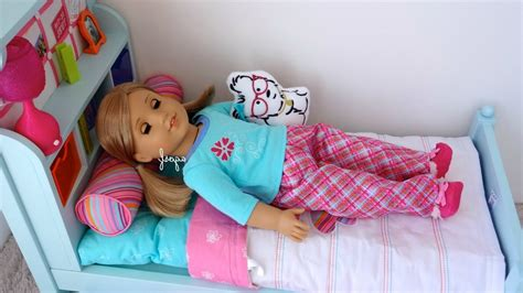 Setting Up American Girl Bouquet Bed Hd Watch In Hd American Doll Beds For Cheap