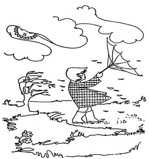 free coloring pages of windy
