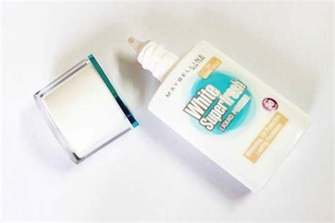 Maybelline White Liquid maybelline white superfresh liquid powder sand beige review