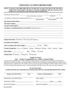 workplace injury report form template work injury report form images