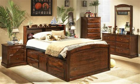 Captains Bed King by Bed Frame