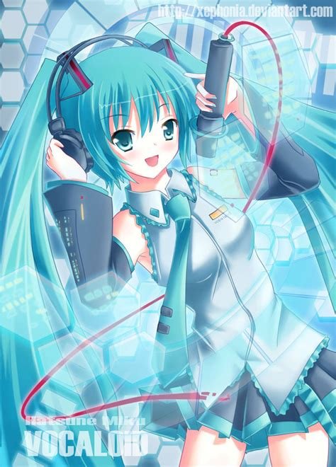 Kaos Anime Miku School White vocaloid hatsune miku by xephonia on deviantart