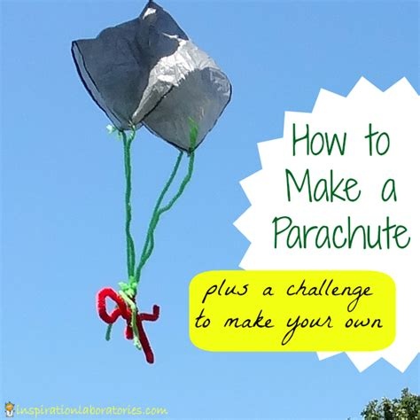 Make A Paper Parachute - how do you make a paper parachute 28 images vinton