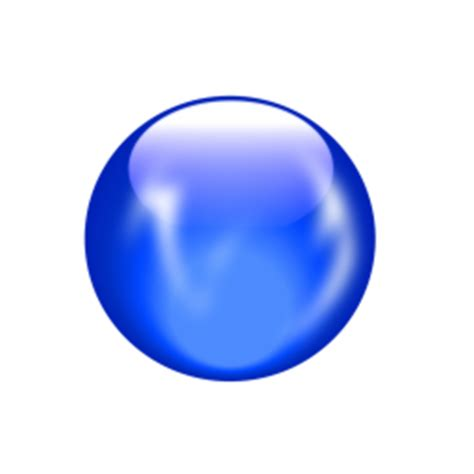 multi color crystal ball element icon png