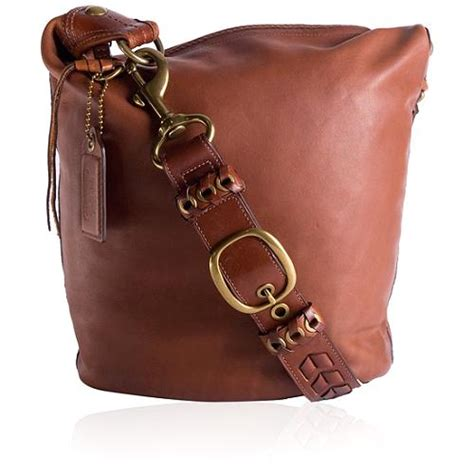 Coach Bleeker Leather Large Duffle by Coach Bleecker Leather Large Duffel Handbag