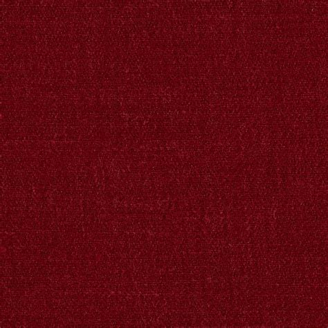 Designer Home Decor Fabric by Sorrento Linen Solid Maroon Discount Designer Fabric