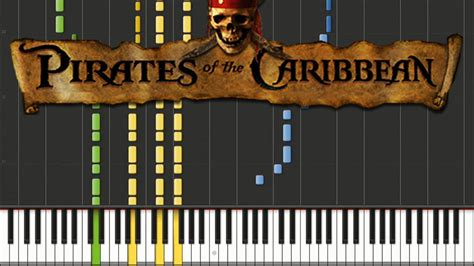 tutorial piano he s a pirate pirates of the caribbean he s a pirate piano tutorial